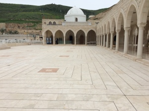 The tomb of Jethro at the Druze site, Nebi Shu'eib