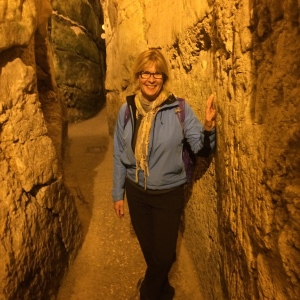 Walking under the Wailing Wall